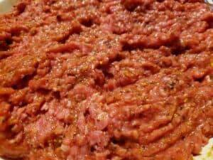 seasoned meatloaf mix