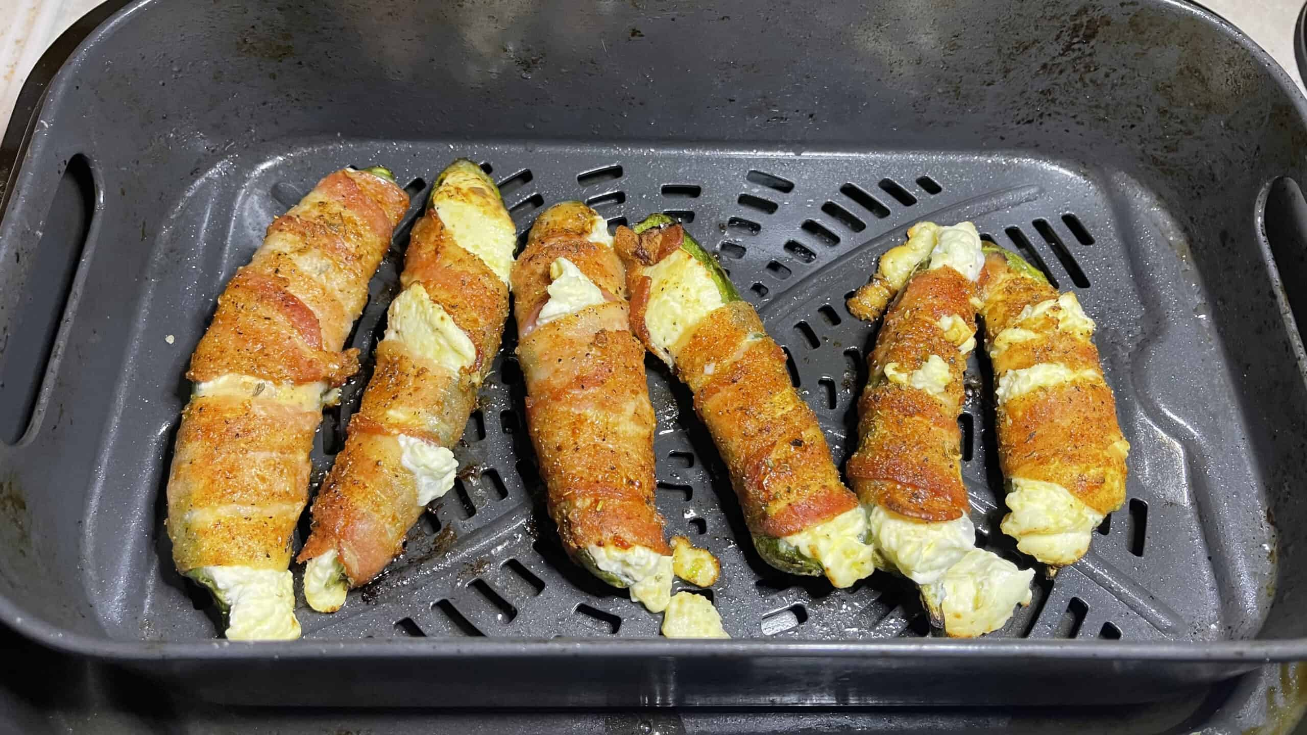 poppers cooked in air fryer