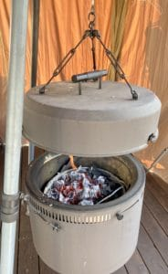Burch Barrel with charcoal